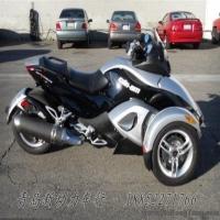 【二手重机】08年整车下货最高配自动波银色庞巴迪三轮摩托中的超级跑车Can-Am Spyder