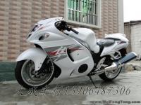 """【全新铃木跑车】2012年全新白色-黑色铃木超级跑车GSX1300R""""隼""""Hayabusa"""