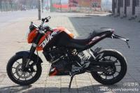 2012款 全新 奥地利KTM-DUKE200 桔色 五万元整