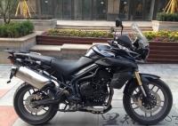 2012款 凯旋Tiger 800 黑色 秒杀宝马的中量级车型,准新车公里数少