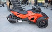 2012款纪念版庞巴迪RSS到货 橘色三千多公里