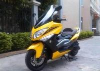 2009款雅马哈T MAX 500―ABS骚黄色