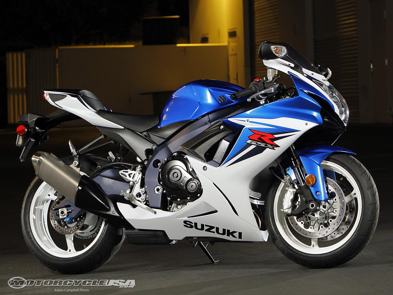 款铃木GSX-R600摩托车图片1