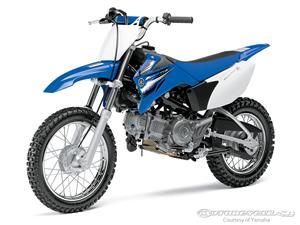 雅马哈TT-R110E摩托车