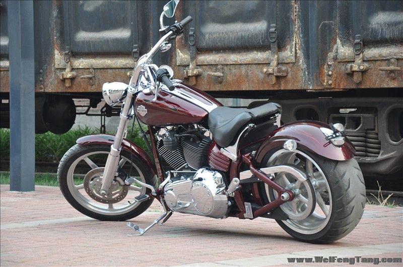 哈雷戴维森摩托车二手转让图片