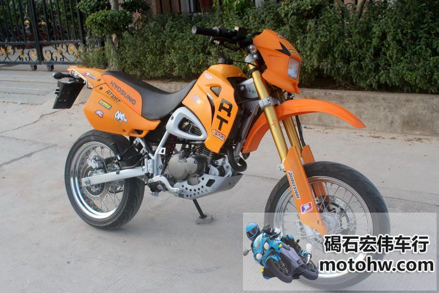 现货出售 07年韩国HYOSUNG-RT125T 电镀轮圈 图片 3