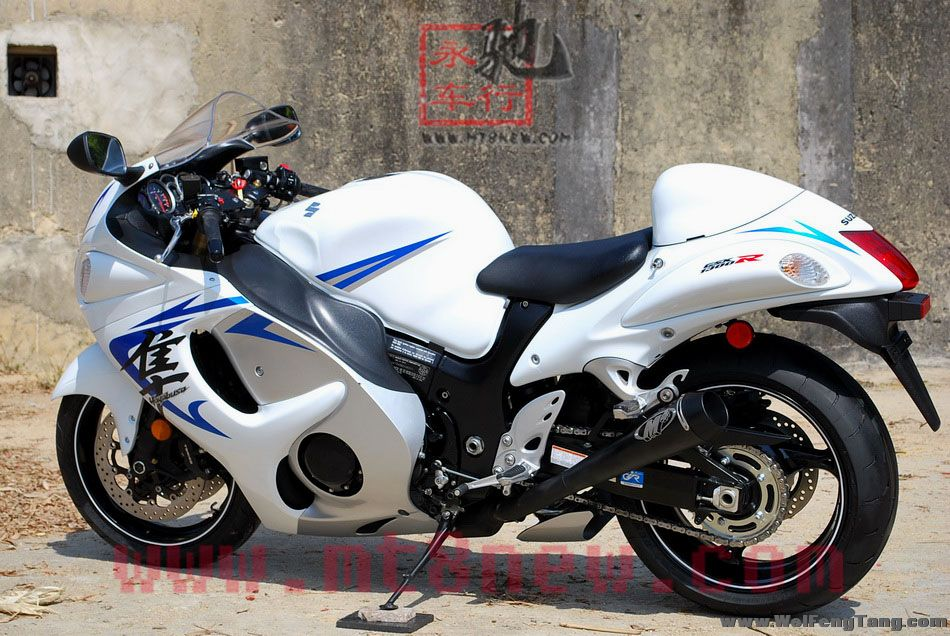 现货销售:2008年铃木GSX1300R K8隼 白色 图片 0