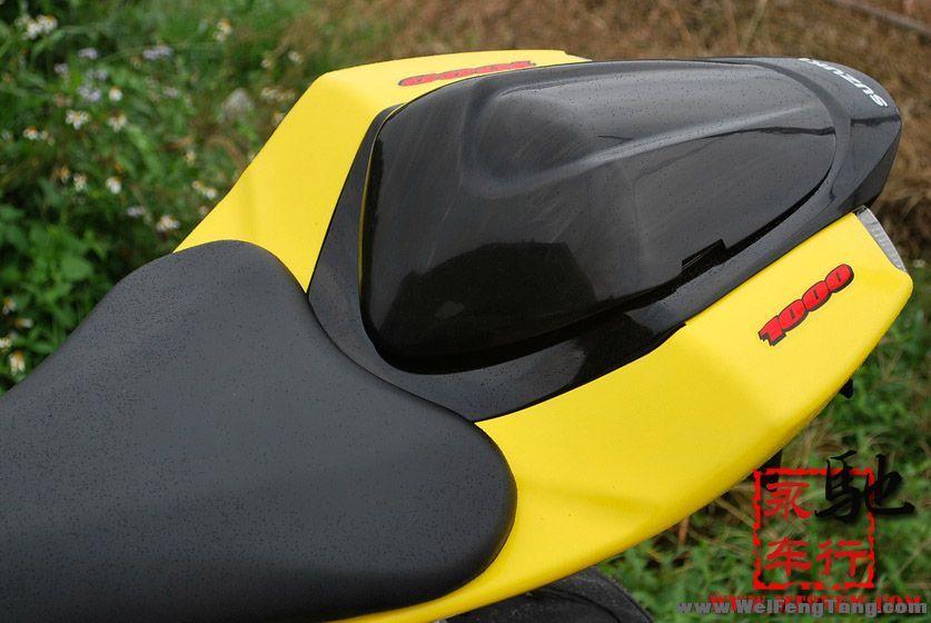 二手重型机车: 2005年铃木GSX1000RR黄色 K5 现货 GSX-R1000图片 3