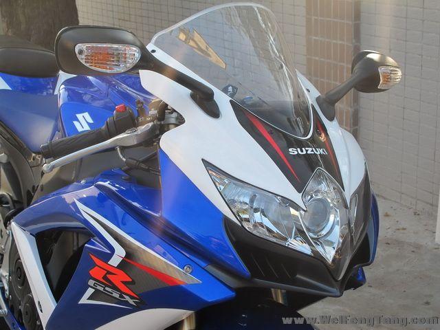 2008款 铃木GSX-R600 小R K8 蓝白色 GSX-R600图片 1