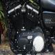 2012款哈雷戴维森 XL-883N 哈雷硬汉摩托车 红色邮箱,黑色座椅2