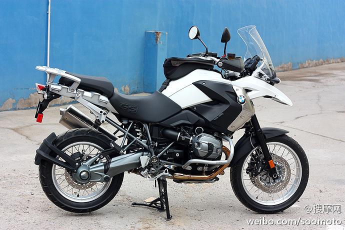 新到2011款 宝马 BMW-R1200GS 高配 白色 原板原漆 只行驶两千余英里 十多万元 R1200GS图片 2