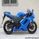 2008款蓝色川崎ZX-6R全部原装 蓝色 2800多英里0