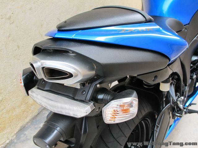 2008款蓝色川崎ZX-6R全部原装 蓝色 2800多英里 Ninja ZX-6R图片 1