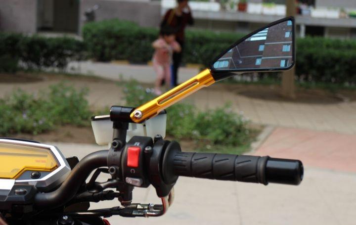 橘色2012款川崎Z1000 两千多公里,红黑色,超级霸气的街车 Z1000图片 1