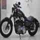 2011款亮黑色哈雷戴维森Harley Davidson XL1200N  不到700公里 成色极佳1