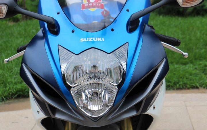 2011款铃木GSX-750R蓝色车架 铃木小R纪念版,原装钥匙,公里数少 GSX-R750图片 2