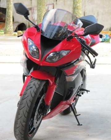 新到2012款川崎忍者Ninja  ZX-6R 黑红色 Ninja ZX-6R图片 1