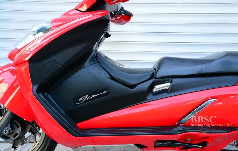 2008款铃木 GEMMA-250――伽马 红色 图片 1