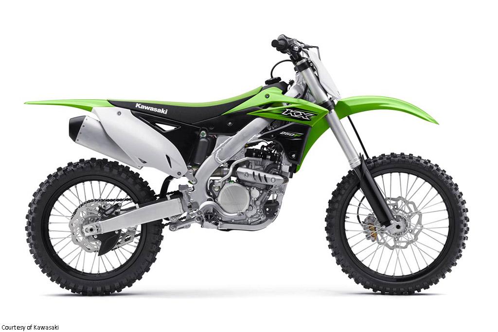 川崎KX250F摩托车
