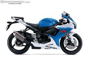 2014款铃木GSX-R750摩托车