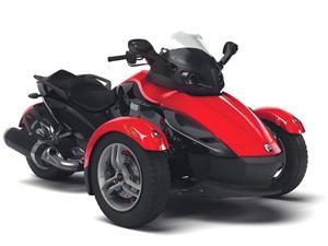 庞巴迪Spyder SM5摩托车