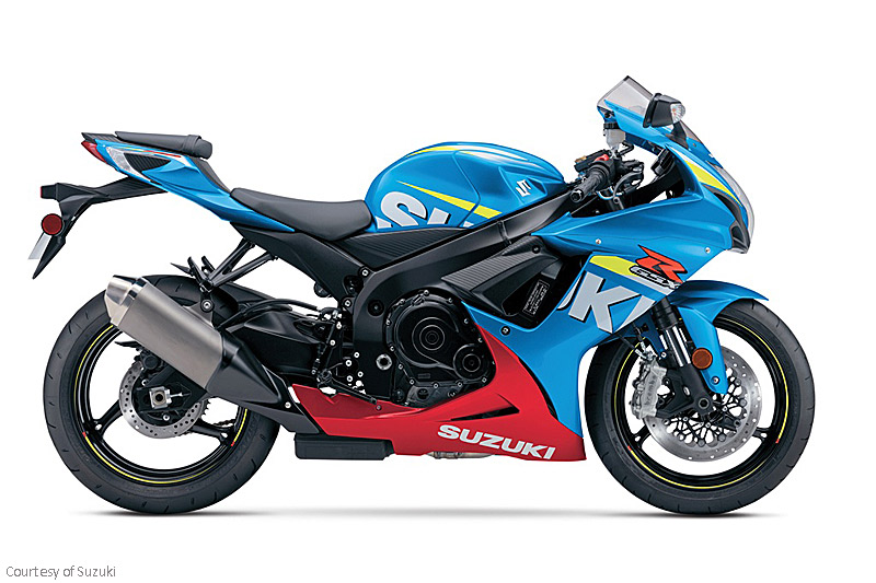 铃木GSX-R600摩托车