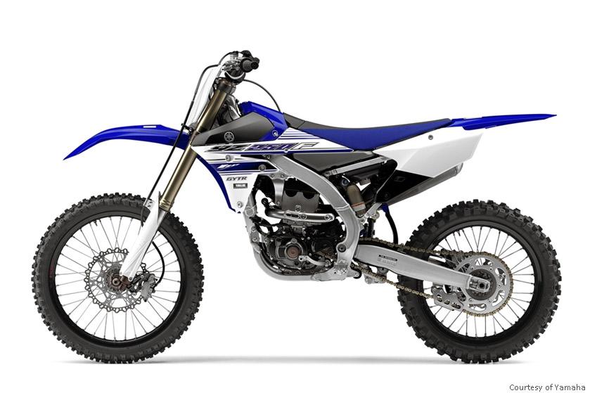 雅马哈YZ250F摩托车