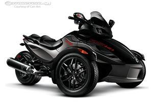 庞巴迪Spyder RS摩托车