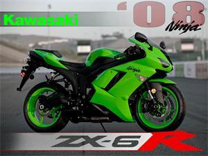 2008款川崎Ninja ZX-6R