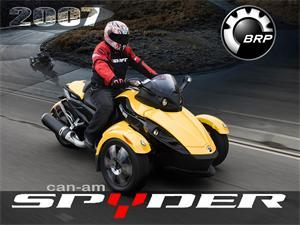 庞巴迪Spyder摩托车