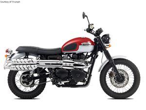 凯旋Scrambler摩托车车型图片视频